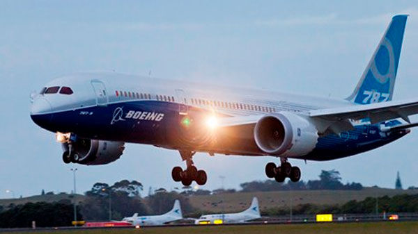 The 787-9 Dreamliner