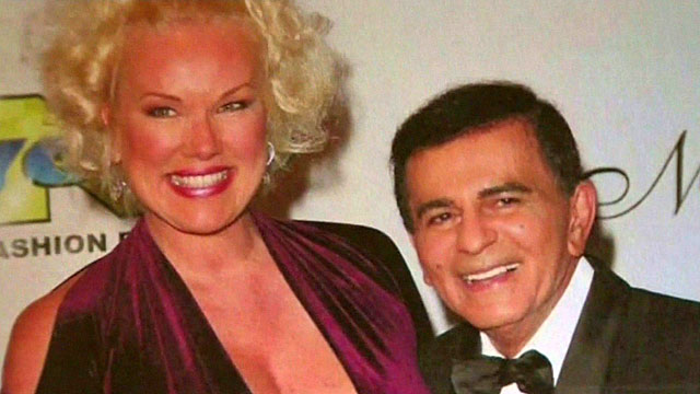 Casey Kasem and his wife, Jean