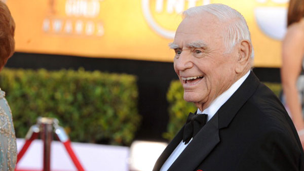 Actor Ernest Borgnine arrives at the 17th Annual Screen Actors Guild Awards held at The Shrine Auditorium on January 30, 2011 in Los Angeles, California