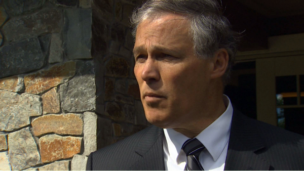Gov. Jay Inslee continues to urge the federal government to build new tanks at the Hanford Site.