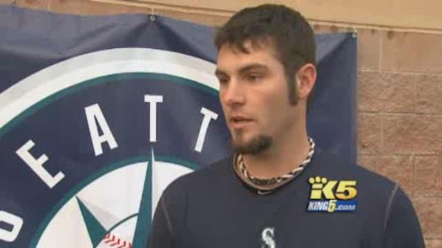 Moving Forward:  M's pitcher Josh Lueke