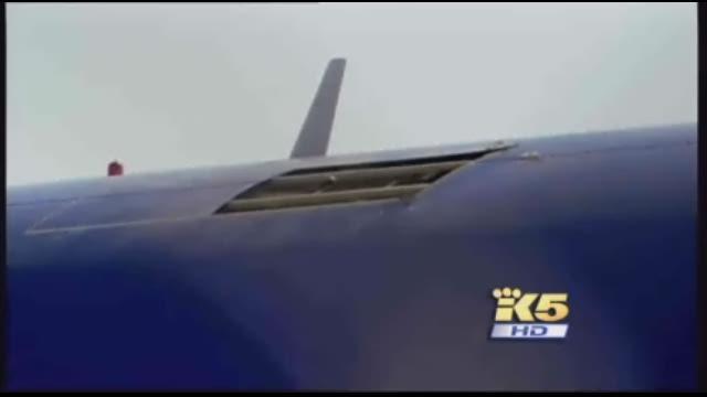 Fuselage Tear 737 Fuselage Tear a Surprise