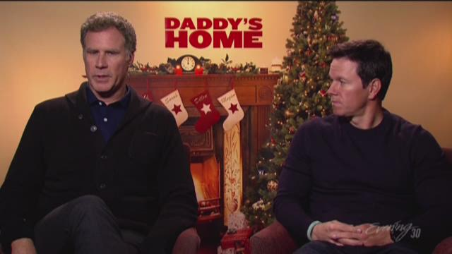 Daddy's Home with Ferrell and Wahlberg