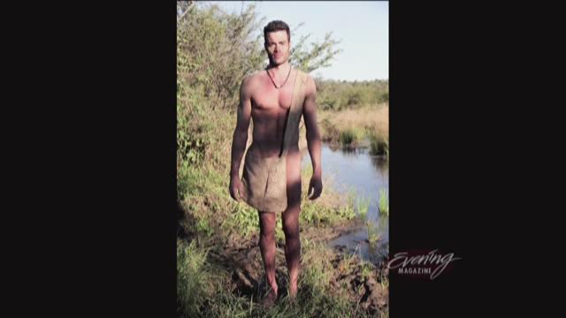 """Michael Jefferson on day 1 of the Discovery Channel's show """"Naked and Afraid."""""""