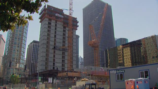 Construction in Seattle