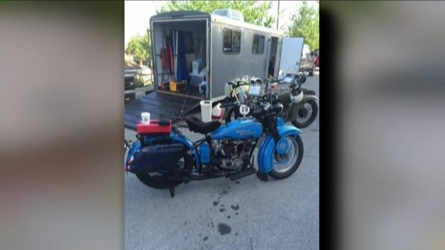 Five antique motorcycles stolen in Tacoma