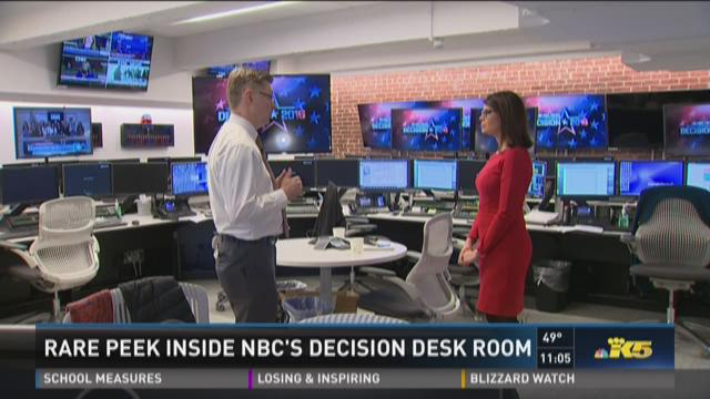 Rare look inside the operation behind NBC's Decision