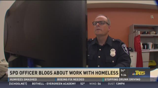 Seattle PD officer gives voice to police working with homeless