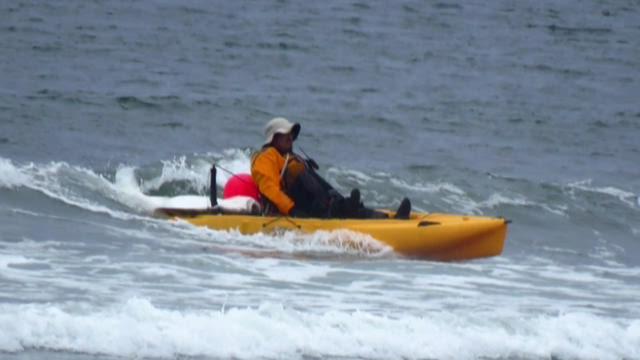 Kayak fisherman lands 124 lb halibut