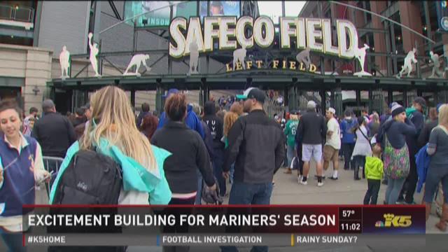 Excitement building for Mariners' season