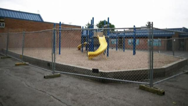 Parents rally to replace playground