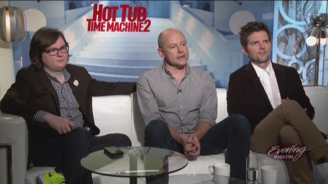 The cast of Hot Tub Time Machine 2 in the year 2020?