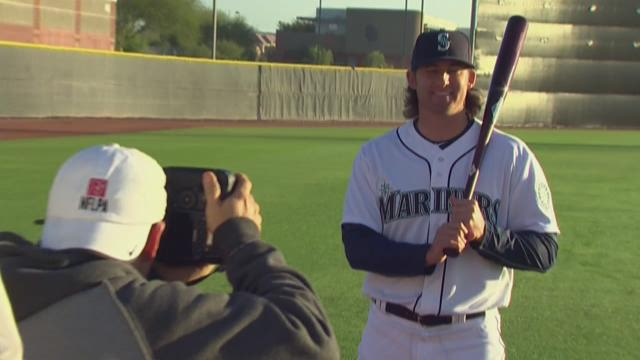 Mariners picture day at Spring Training