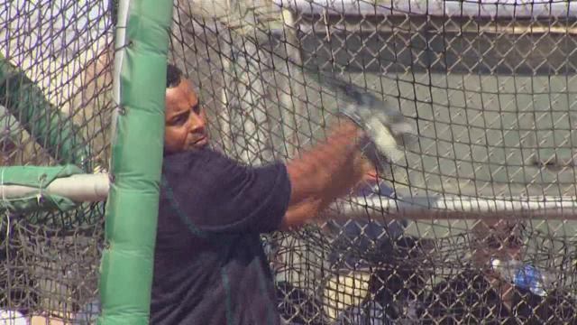 Nelson Cruz ready to hit at Safeco Field