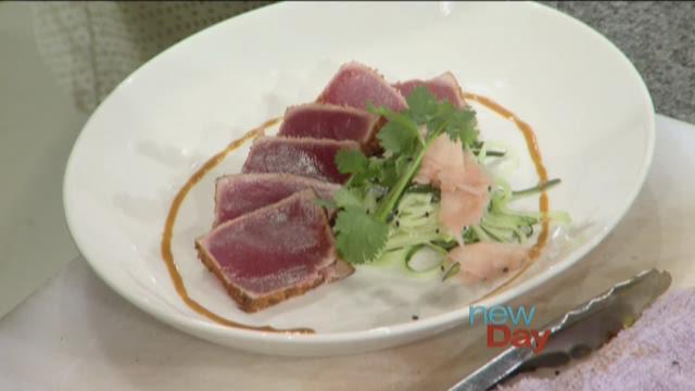 Seared Tuna from Sullivan's Steakhouse