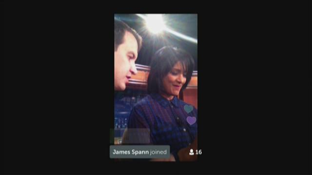 Periscope app tweets live video