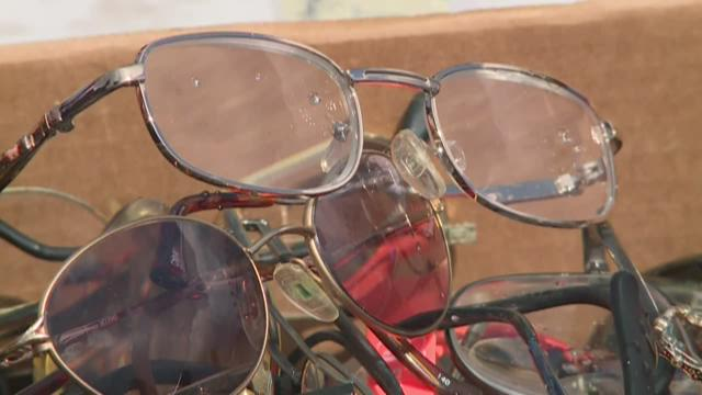 fcf54b970f6d Thousands of glasses lost on buses go to good cause