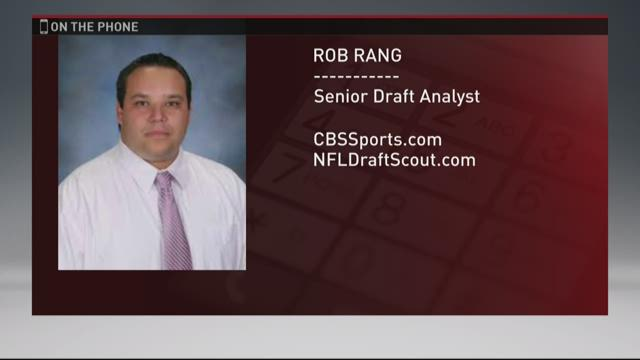 Draft expert Rob Rang breaks NFL draft