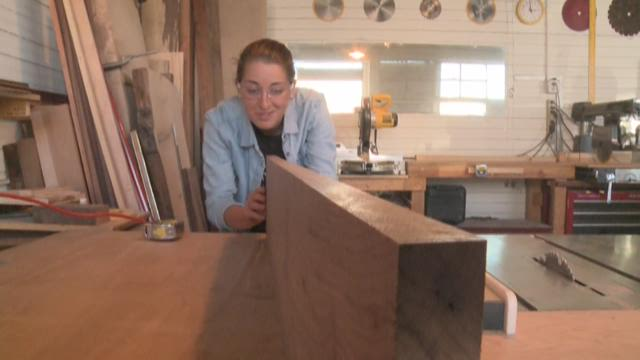 Danielle Foxhoven: Soccer player/woodworker