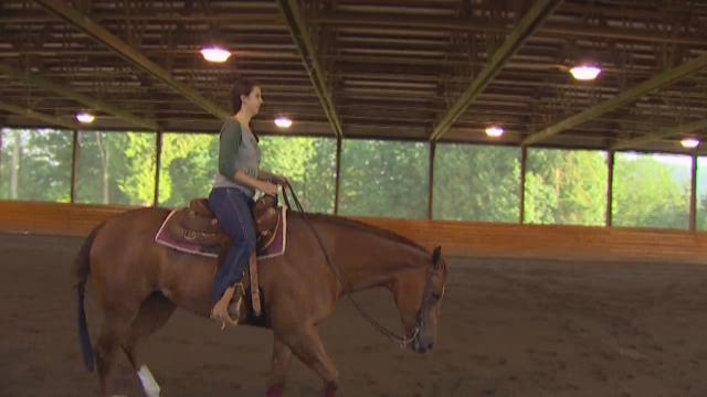 Prep Zone: Champion girl horse rider