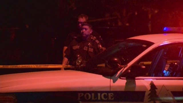 One man was injured in an officer-involved shooting