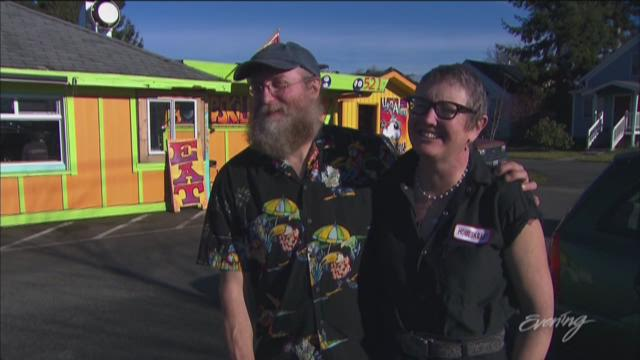 Kirby and Tina White own what might be the funkiest eatery in Bellingham.