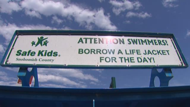 Free life jackets aren't being returned