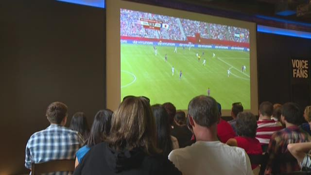 Seattle fans celebrate World Cup victory
