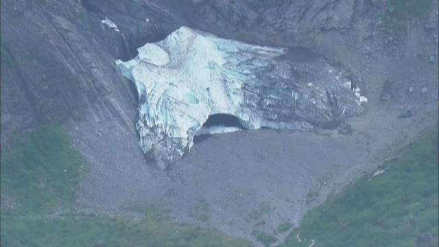 Collapse at the Big 4 Ice Caves