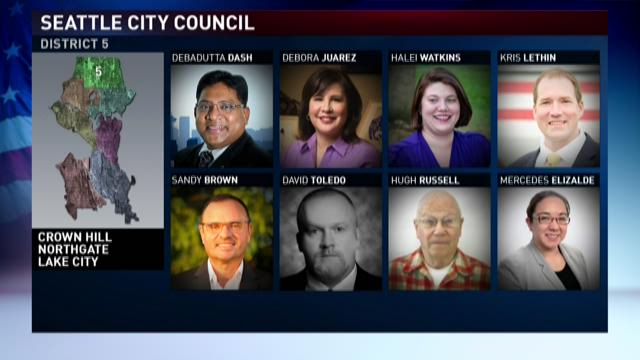 Seattle City Council candidates: District 5