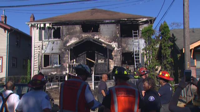 Central District apartments destroyed by fire