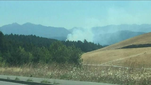 Pierce County Sunrise Fire 70% contained
