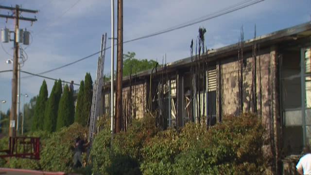 Fire damages classrooms at Kent-Meridian HS