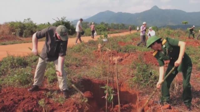Seattle group helping clear bombs, plant trees in Vietnam