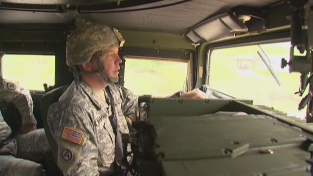 National Guard helps wildfire crews