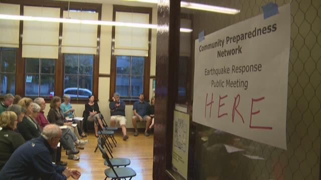 Seattle neighborhood plans for earthquake together
