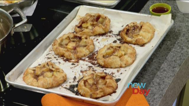 CHOMP!  Macrina Bakery Peach and Brown Sugar Tartlet