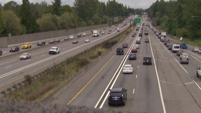 I-405 down to two lanes this weekend
