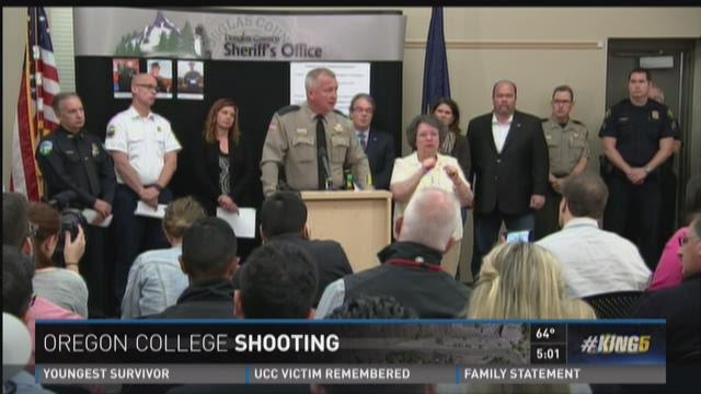 Police release timeline of Oregon college shooting