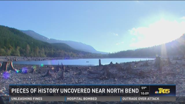 Pieces of history uncovered near North Bend