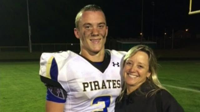 Injured Adna football player recovering