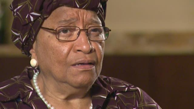 Liberian President speaks out about crisis