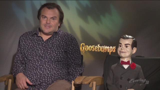 Actor Jack Black talks to Evening about his new movie, Goosebumps.