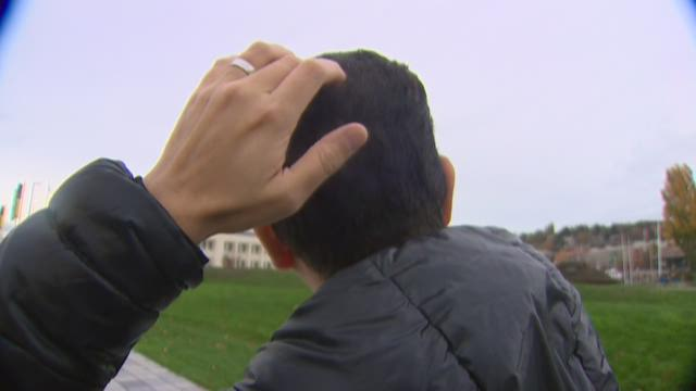 A man says he was attacked by an owl while walking through Seattle's Discovery Park.