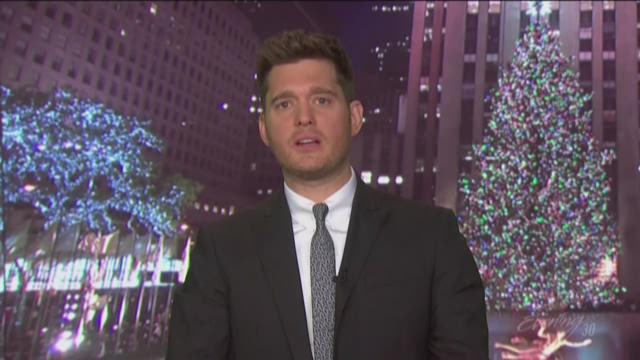 """Michael Bublé's returns to NBC with an all new holiday special, """"Christmas in Hollywood""""."""