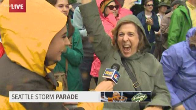 Seattle Storm superfans on WNBA Championship